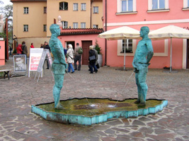 The Pissing Men by David Cerny