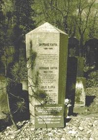 Kafka Gravestone