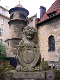 The Old Jewish cemetery in Prague