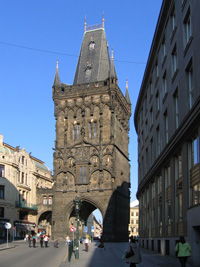 The Powder Tower, Prague