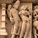 Khajuraho sculptures, India