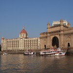Mumbai, India, Asia, Bombay, Taj Mahal Hotel, Gates of India by Global Travel Authors