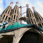 Spain, Barcelona, Catalonia, travel, Europe, architecture, building, church, Gaudi