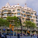 Spain, Barcelona, Catalonia, travel, Europe, architecture, building, Casa Mila, Gaudi