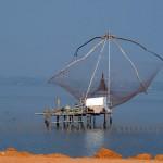 India, travel, Asia, international, Cochin, nets, fishing, south.
