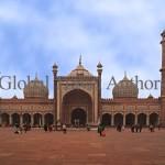 India, travel, Asia, international, Delhi, mosque, Masjid, shah Jahan, mughal