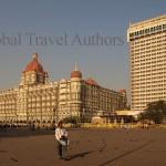 India, travel, Asia, international, Famous Taj Hotel in Mumbai (Bombay) India