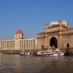 India, travel, Asia, international, Gateway of India and Taj Hotel in Mumbai (Bombay) India
