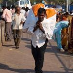 India, travel, Asia, international, Laundry delivery man, Mumbai, India