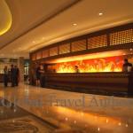 India, travel, Asia, international, Lobby of Famous Taj Hotel in Mumbai (Bombay) India
