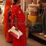 India, travel, Asia, international, Market shoppers, Udaipur, India