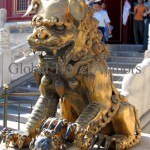 Forbidden City, Beijing, China, Asia, Travel, international, global, lion