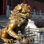 Forbidden City, Beijing, China, Asia, Travel, international, global, lion, guard