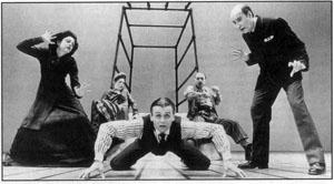 METAMORPHOSIS. By Franz Kafka. Ethel Barrymore Theatre,   New York. Theater, Mikhail Baryshnikov