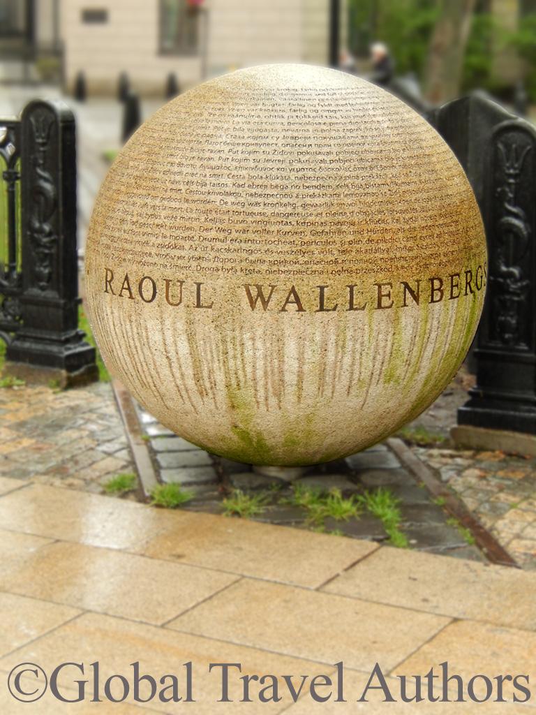 Raoul Wallenberg memorial in Stockholm,Sweden