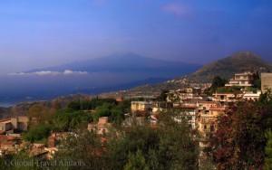 Mount Etna and Taormina Sicily