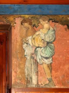 Frank Brangwyn painting Family