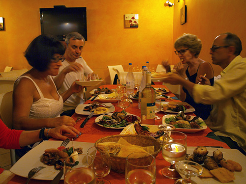 food, Italy, Sicily, Palermo, restaurant