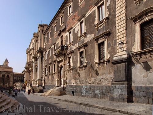 Catania baroque building