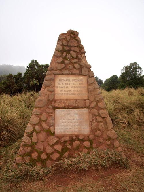 Grzimeks' Grave Ngorongoro Tanzania