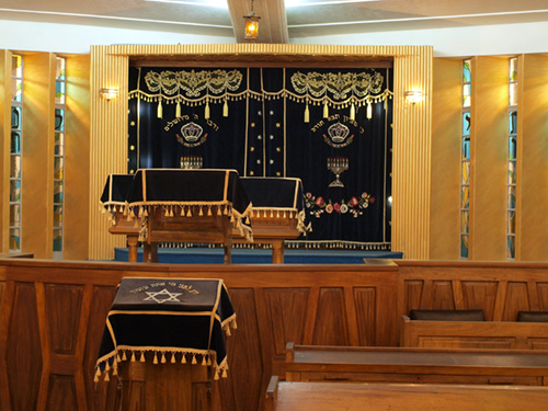 Sanctuary, Nairobi Synagogue, Kenya