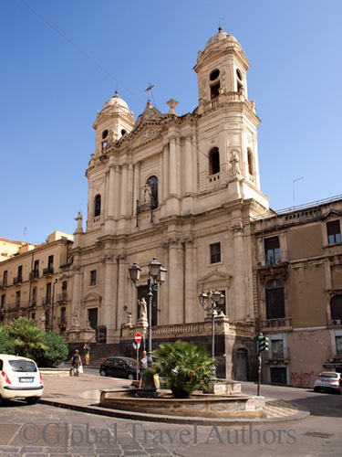 Piazza, cathedral, Catania, Sicily