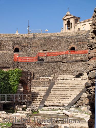 Teatro Romano, Catania