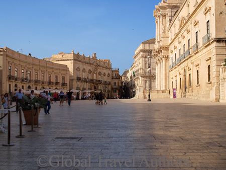 Piazza Del Duomo Siracusa Italy