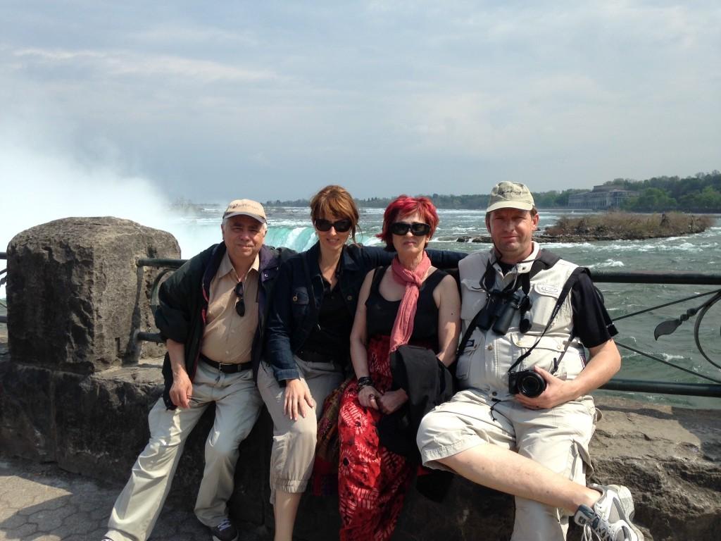 Guests at Niagara Falls