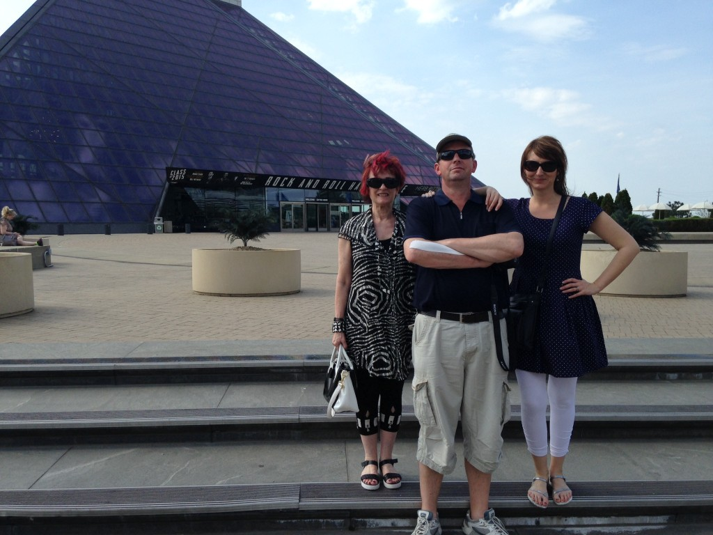Cleveland rock and Roll Hall of Fame and Museum