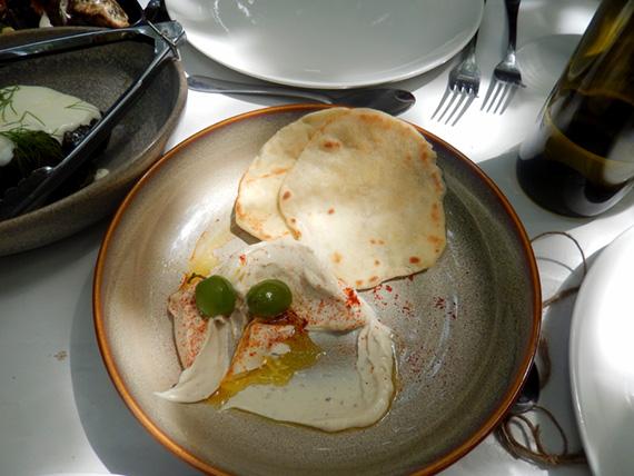 Appetizer taramasalata