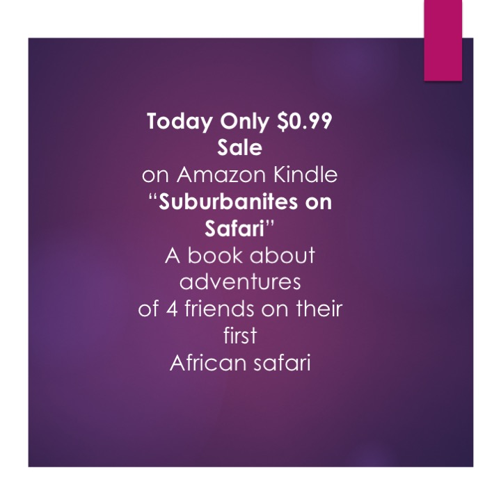 promo of Suburbanites on Safari Book