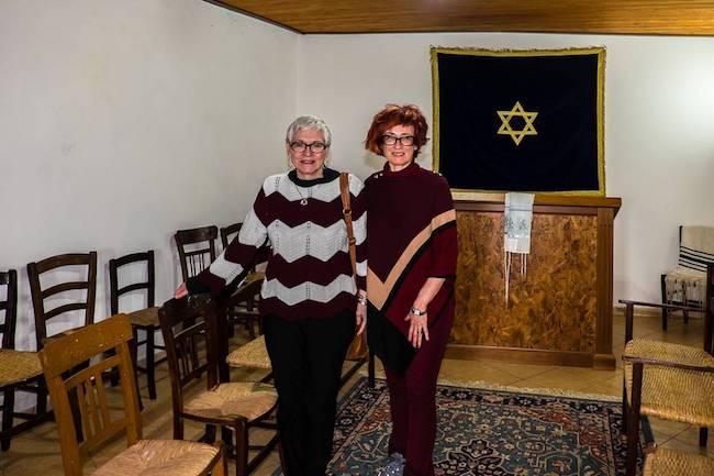 Rabbi Barbara Aiello and Irene Shaland