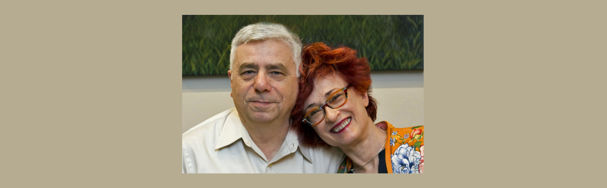 Irene Shaland and Alex Shaland