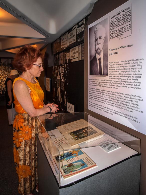 Irene Shaland in Sydney Jewish Museum