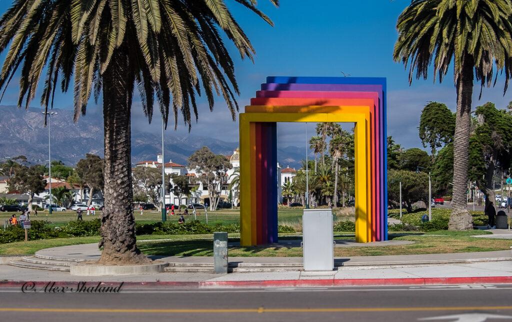 Monochromatic gate Santa Barbara