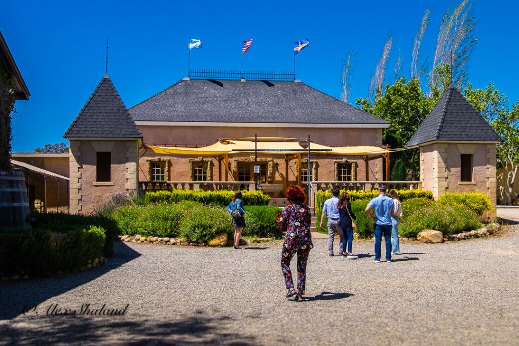 Brander Winery building