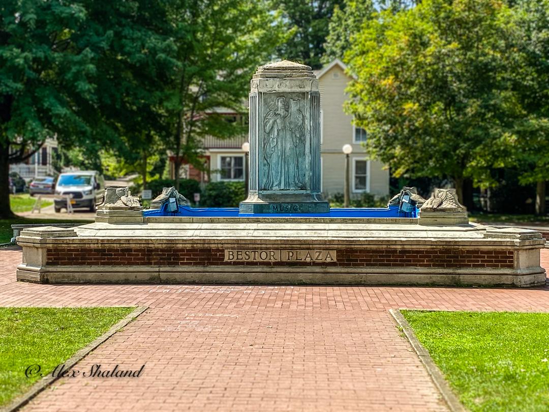 Bestor Plaza Fountain
