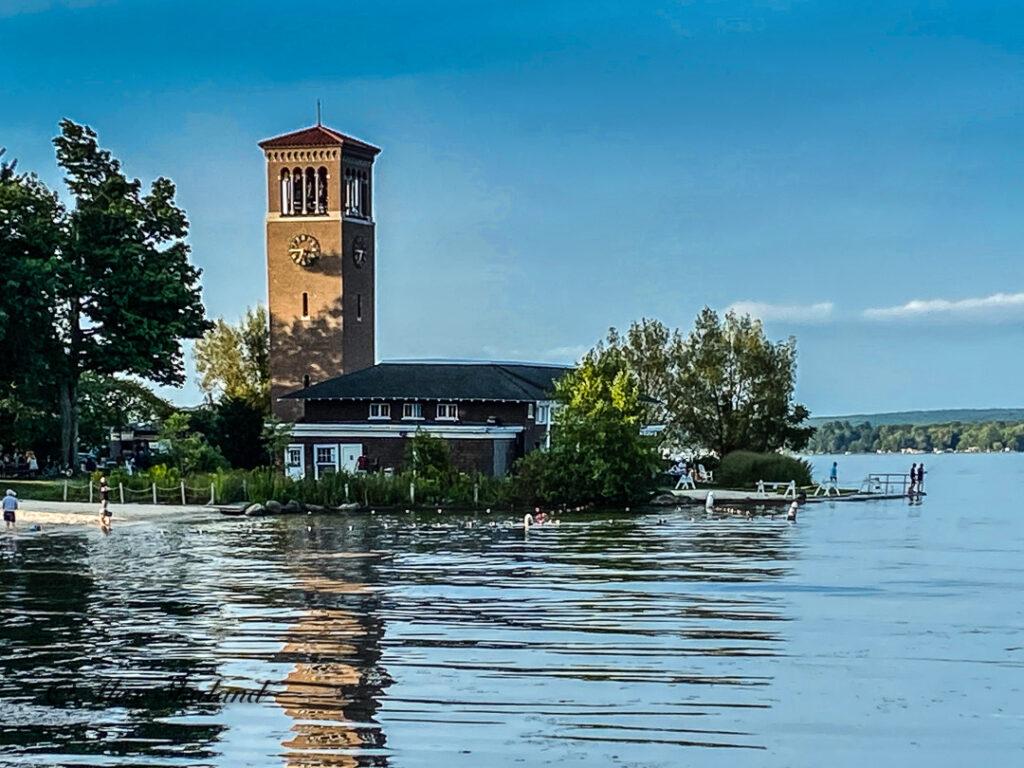Clock Tower on Lake Chautauqua