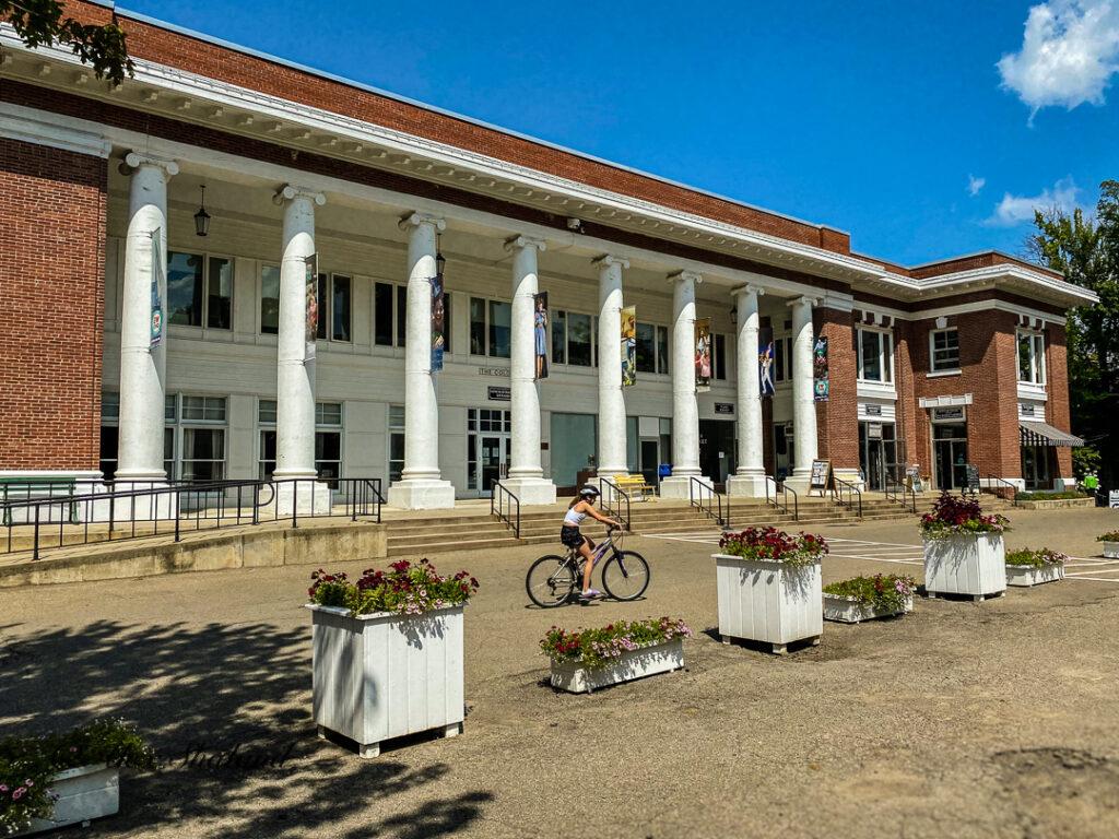 The Colonnade of Chautauqua Institution