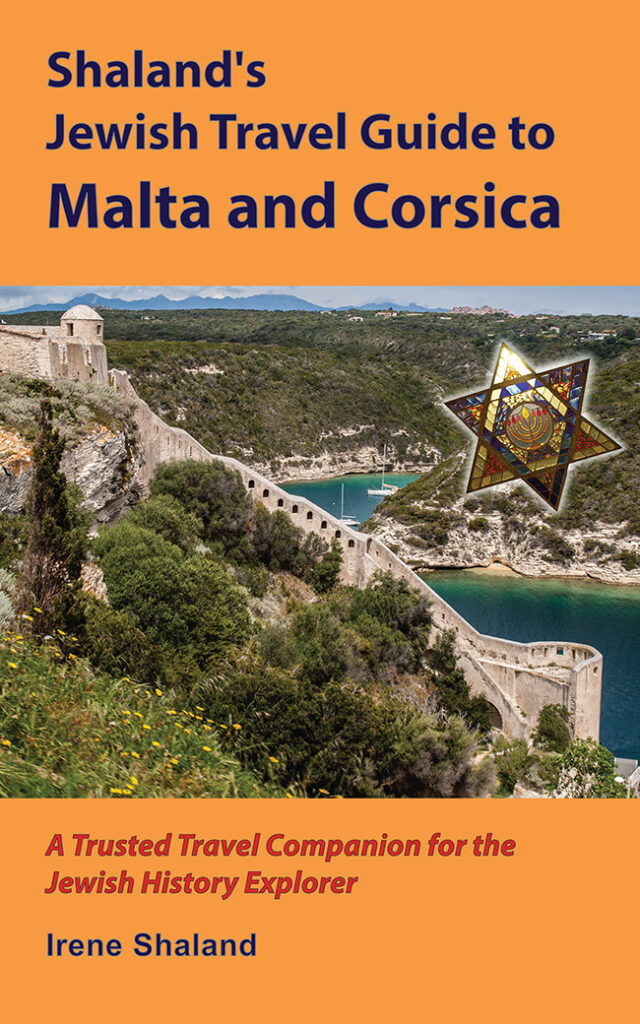 Book cover of Shaland's Jewish Travel Guide to Malta and Corsica