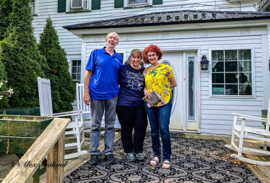Irene Shaland, Mark, and Sheila